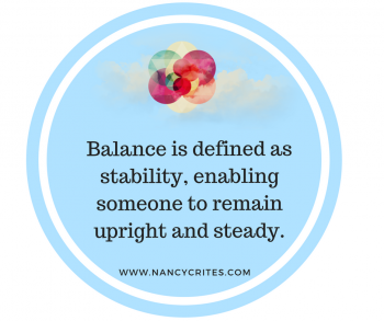 how to achieve balance to help heal chronic pain